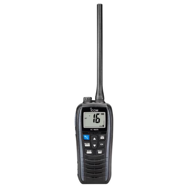 IC-M25 Buoyant Marine VHF Two-Way Radio