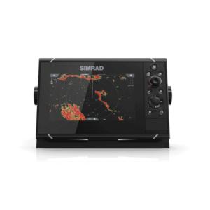 Simrad NSS7 EVO3 Displaying world map