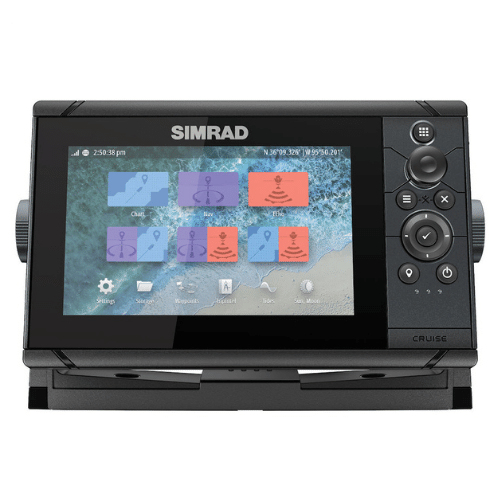 "SIMRAD Cruise 5"" Chartplotter with 83/200 Transom Transducer"