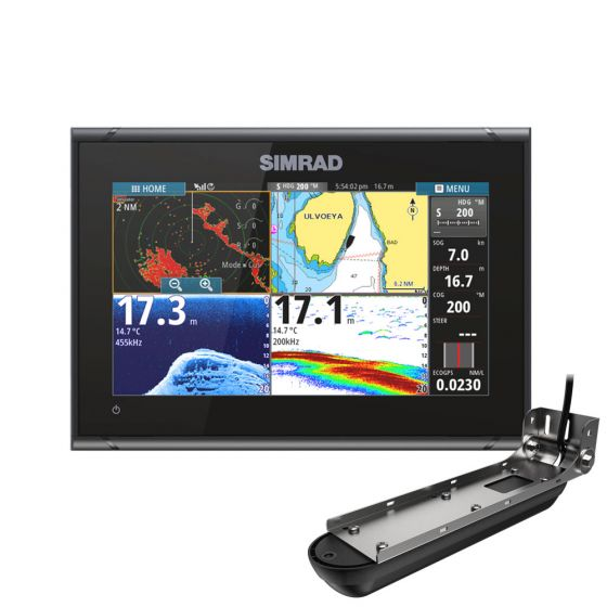 Simrad GO9 XSE & Active Imaging 3-in-1 Transducer